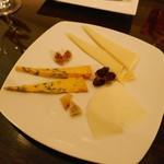 マリアージュ - チーズ盛り合わせ