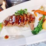CAFEレストラン ラフェット - 料理写真:ステーキ丼
