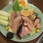 山翠 - 元祖あんこう鍋(一人前) 3400円(税別)