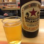 いづみや - ビンビール(大ビール)
