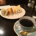 松岡珈琲店 - 卵サンドとスペシャルブレンド