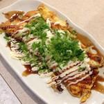 串カツ田中 - 葱まみれチー平焼き
