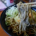 大江戸そば  - お蕎麦はこんな感じです。