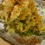 旬感酒場 ハゼル - 菜の花のフリット