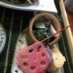 山翠庵 - たこ味噌