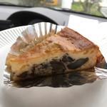 雪岡 市郎兵衛洋菓子舗 - 丹波栗のチーズケーキ