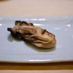 すし 陸 - 炙り牡蠣