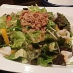 森乃館 - ヤリイカとツナのサラダ
