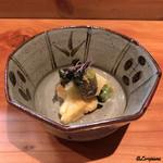 ほむら - 帆立貝と独活と蓬麩の酢味噌和え