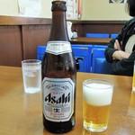中華料理天鳳 - ビール
