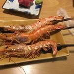 くろしを - 大えび塩焼き ¥500