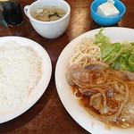 ゲレンデ - 日替りランチ(豚ロース焼肉定食)