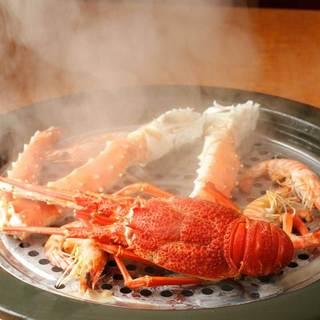 銀座初!蒸し鍋料理