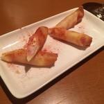 伊・食・旬 イガッタ - 生ハムとずわいがにのもちチーズ春巻き ¥230