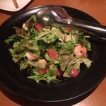 伊・食・旬 イガッタ - グレープフルーツと海老アボカドのサラダ ¥840