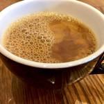 spanish Italian Azzurro520+cafe -costa de terraza- - 食後のコーヒー