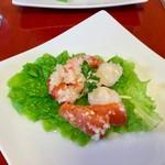 北野の森 - 料理写真:前菜のシーフードマリネ