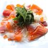 鮮魚3種のカルパッチョ