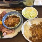 豊田本町ホルモンセンター総本家 - ホルモンランチ¥780