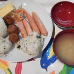 ファミリーイン茨城 - 料理写真:朝食の一例