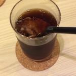 Heroes coffee - アイスコーヒーはお店のブレンドオンリー