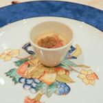 ウェスタ - 三田牛ひうち(モモ)のしゃぶしゃぶ風茶碗蒸し