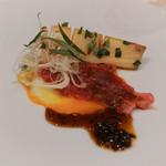 ウェスタ - 三田牛サーロインのカルパッチョと新筍