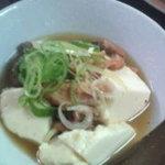 とり薪 - もつ煮込み 豆腐