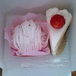 マコト - ストロベリーモンブランとショートケーキ