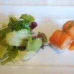 meindaininguitozakura - 前菜 聖護院大根とサーモン