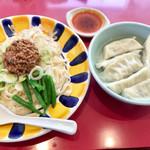 宇都宮みんみん - 炸醤麺は珍しいです