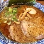 大宮豚骨 一番軒 - 黒豚骨(中華麺)+半熟味玉