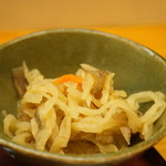 和食処おおつぼ - (2017.4.10)切り干し大根の小鉢