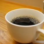 和食処おおつぼ - 食後にコーヒーをいただきます(2017.4.10)
