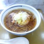 旭温泉 - 掻き揚げ蕎麦 700円