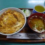 そば 森万  - 料理写真:TOKY0Xかつ丼(1500円)