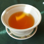 中国料理 桃花林 - 温かいウーロン茶