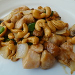 中国料理 桃花林 - つくば鶏とカシューナッツの炒め