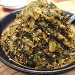 ずんどう屋 心斎橋店 - 無料の高菜