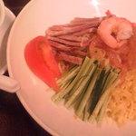 Yokohamachuukagaikeichinrou - 冷やし中華~とっても美味しかった♪