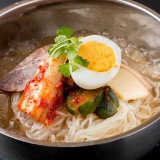 無添加スープの冷麺