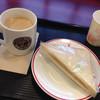 カフェ・ベローチェ - 料理写真:ピーナッツサンド&ロイヤルミルクティー