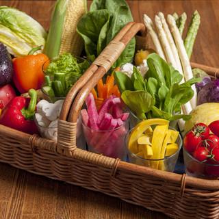 新鮮野菜を沢山召し上がっていただきたい!