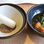どん亭 - すりごま&ポン酢