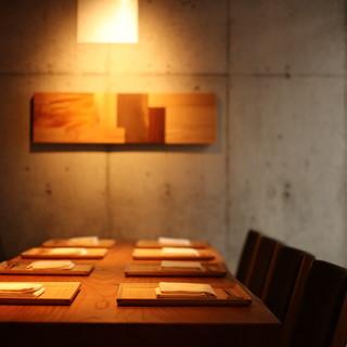 普段の食事、お酒の場から、ご接待、ご宴席まで。