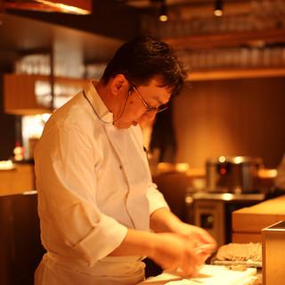 日本料理の繊細さと新しい息吹を