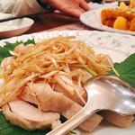 四川菜園 - ▲蒸し鶏