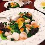 四川菜園 - ▲シーフードと野菜の炒め物