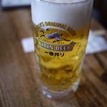 ホットジャジャ - 生ビール~☆