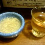 美味卵家 - スープ、お冷や
